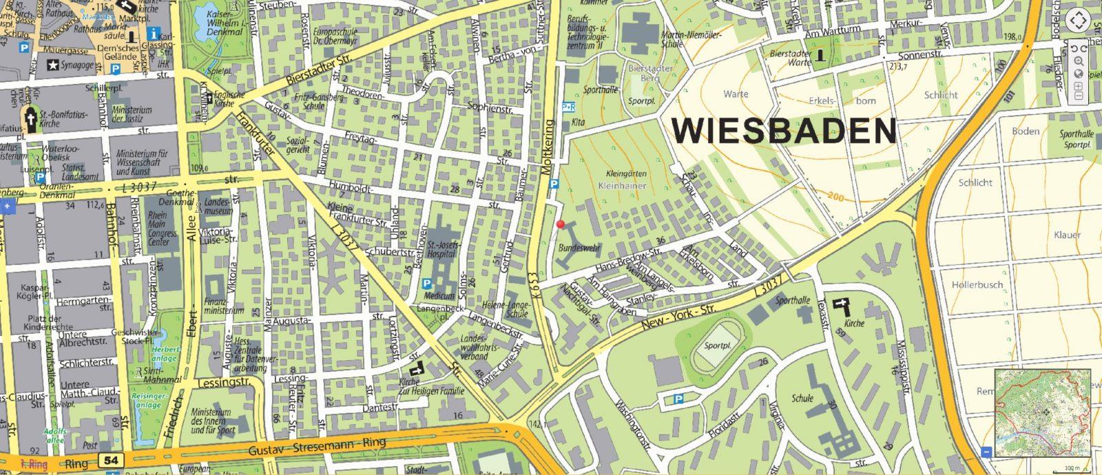 Park Ride Proklima Wiesbaden